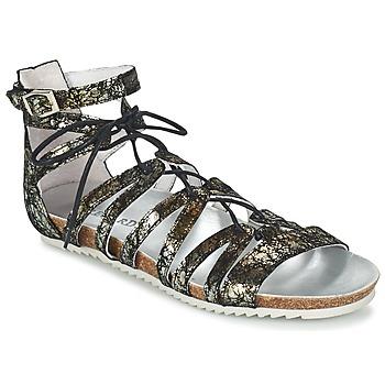 Παπούτσια Γυναίκα Σανδάλια / Πέδιλα Regard RABAZO Black / Silver