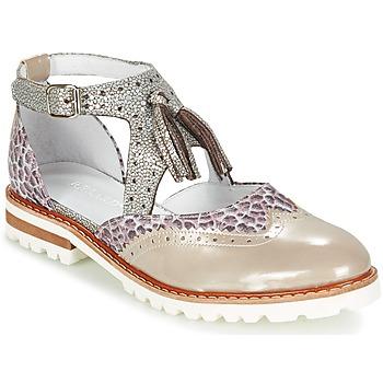 Παπούτσια Γυναίκα Derby Regard ROAXO Beige / Silver