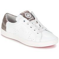 Παπούτσια Κορίτσι Χαμηλά Sneakers Acebo's SOUDIN άσπρο