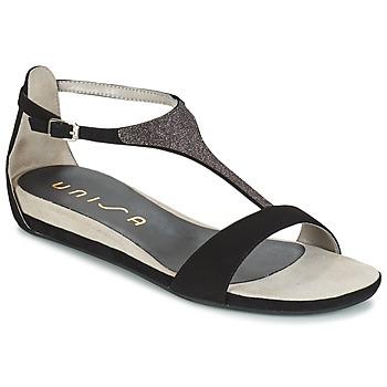 Παπούτσια Γυναίκα Σανδάλια / Πέδιλα Unisa APICE Black