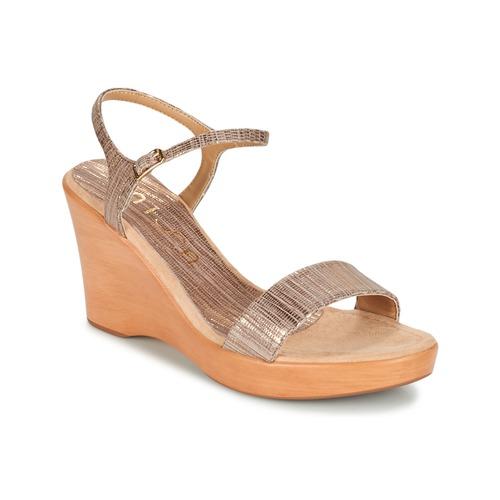 Παπούτσια Γυναίκα Σανδάλια / Πέδιλα Unisa RITA TAUPE