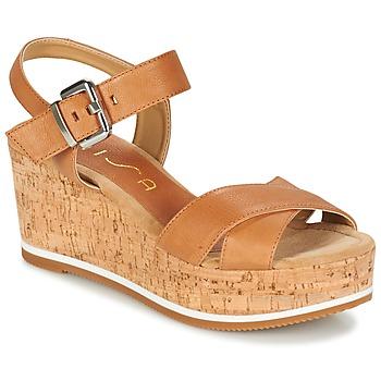 Παπούτσια Γυναίκα Σανδάλια / Πέδιλα Unisa KARPI Beige
