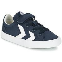 Παπούτσια Παιδί Χαμηλά Sneakers Hummel DEUCE COURT JR μπλέ