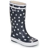 Παπούτσια Κορίτσι Μπότες βροχής Aigle LOLLY POP PRINT Marine / Multicolour
