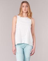Υφασμάτινα Γυναίκα Αμάνικα / T-shirts χωρίς μανίκια Desigual ROMINESSA Άσπρο