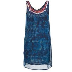Υφασμάτινα Γυναίκα Κοντά Φορέματα Desigual LIORISE Μπλέ