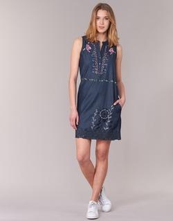 Υφασμάτινα Γυναίκα Κοντά Φορέματα Desigual LIORASE μπλέ