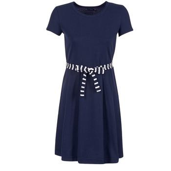 Υφασμάτινα Γυναίκα Κοντά Φορέματα Petit Bateau FLARE MARINE