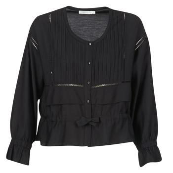 Υφασμάτινα Γυναίκα Μπλούζες See U Soon 7113001 Black