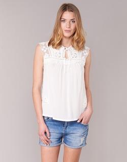 Υφασμάτινα Γυναίκα Μπλούζες See U Soon 7116203 άσπρο