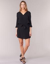 Υφασμάτινα Γυναίκα Κοντά Φορέματα See U Soon 7121032 Black
