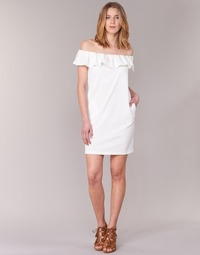 Υφασμάτινα Γυναίκα Κοντά Φορέματα See U Soon 7123017 Άσπρο