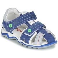 Παπούτσια Αγόρι Σανδάλια / Πέδιλα Babybotte KARTER μπλέ / Green / Grey