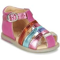 Παπούτσια Κορίτσι Μπαλαρίνες Babybotte TIKALOU ροζ / Multicolore
