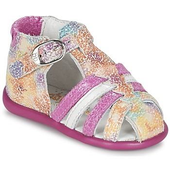 Παπούτσια Κορίτσι Σανδάλια / Πέδιλα Babybotte GUPPY ροζ / Multicolore
