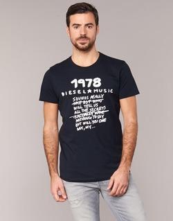 Υφασμάτινα Άνδρας T-shirt με κοντά μανίκια Diesel T DIEGO NB Black