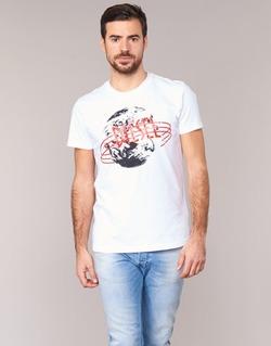 Υφασμάτινα Άνδρας T-shirt με κοντά μανίκια Diesel T DIEGO NC άσπρο