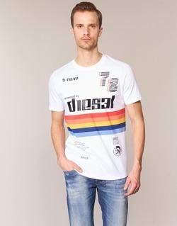 Υφασμάτινα Άνδρας T-shirt με κοντά μανίκια Diesel T JOE OB άσπρο