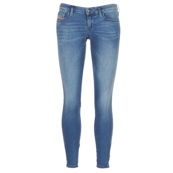 Υφασμάτινα Γυναίκα Skinny jeans Diesel SKINZEE LOW ZIP μπλέ / 0681P