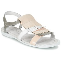 Παπούτσια Γυναίκα Σανδάλια / Πέδιλα Pataugas CANDY/V F2C Άσπρο / Grey / Ροζ