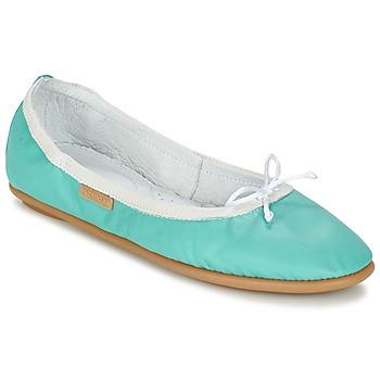 Παπούτσια Γυναίκα Μπαλαρίνες Pataugas SANOK F2C Turquoise