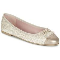 Παπούτσια Γυναίκα Μπαλαρίνες Pretty Ballerinas AMI Gold / Ροζ