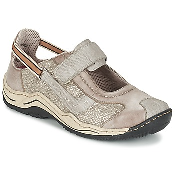 Παπούτσια Γυναίκα Χαμηλά Sneakers Rieker BIOLORATEIL TAUPE