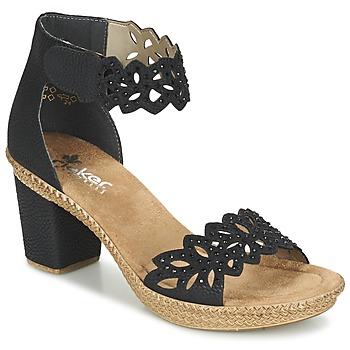 Παπούτσια Γυναίκα Σανδάλια / Πέδιλα Rieker POTIRASSE Black