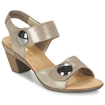 Παπούτσια Γυναίκα Σανδάλια / Πέδιλα Rieker GERITEDO Grey