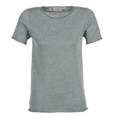 Υφασμάτινα Γυναίκα T-shirt με κοντά μανίκια Casual Attitude GENIUS Grey