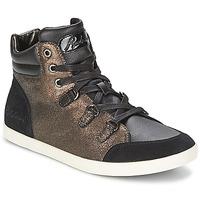 Παπούτσια Γυναίκα Ψηλά Sneakers Redskins CADIX Black / BRONZE