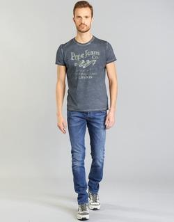 Υφασμάτινα Άνδρας Τζιν σε ίσια γραμμή Pepe jeans TRACK μπλέ / N45