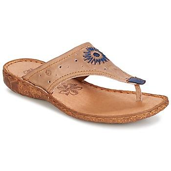 Παπούτσια Γυναίκα Σαγιονάρες Josef Seibel ROSALIE 01 TAUPE