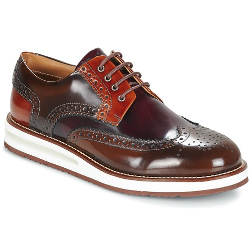 Παπούτσια Άνδρας Derby Barleycorn AIR BROGUE Brown / Bordeaux