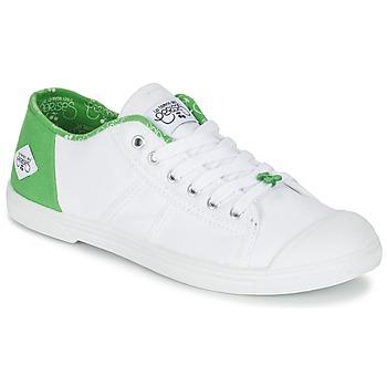 Παπούτσια Γυναίκα Χαμηλά Sneakers Le Temps des Cerises BASIC 02 Άσπρο / Green