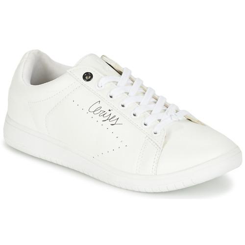 Παπούτσια Γυναίκα Χαμηλά Sneakers Le Temps des Cerises SACHA άσπρο