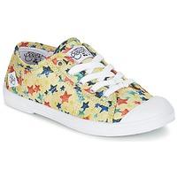 Παπούτσια Κορίτσι Χαμηλά Sneakers Le Temps des Cerises BASIC 02 Yellow
