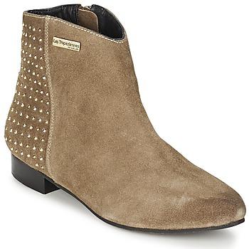 Παπούτσια Γυναίκα Μπότες Les Tropéziennes par M Belarbi LEANA TAUPE