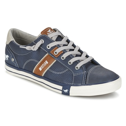 Παπούτσια Άνδρας Χαμηλά Sneakers Mustang FALA Marine