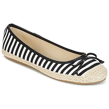 Παπούτσια Γυναίκα Μπαλαρίνες Wildflower Luck Black / άσπρο