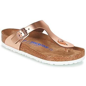 Παπούτσια Γυναίκα Σαγιονάρες Birkenstock GIZEH BRONZE