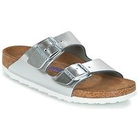 Παπούτσια Γυναίκα Τσόκαρα Birkenstock ARIZONA SFB Silver