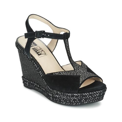 Παπούτσια Γυναίκα Σανδάλια / Πέδιλα Mam'Zelle IMELA Black