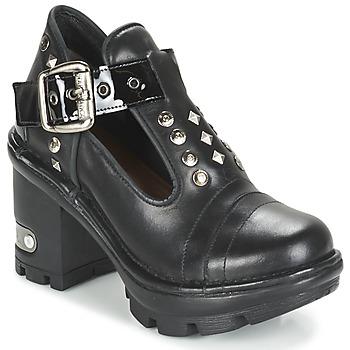 Παπούτσια Γυναίκα Χαμηλές Μπότες New Rock DEZDO Black
