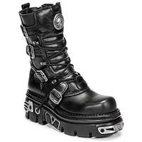 Παπούτσια Μπότες New Rock NEMESIS Black