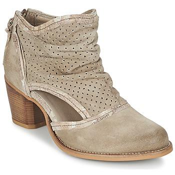 Παπούτσια Γυναίκα Μποτίνια Dkode BAHAL TAUPE