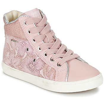 Παπούτσια Κορίτσι Ψηλά Sneakers Geox J KIWI G. H ροζ