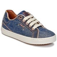 Παπούτσια Κορίτσι Ψηλά Sneakers Geox J KIWI G. B Denim