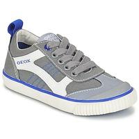 Παπούτσια Αγόρι Χαμηλά Sneakers Geox J KIWI B. J Grey