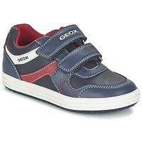 Παπούτσια Αγόρι Χαμηλά Sneakers Geox J VITA A Marine / Red